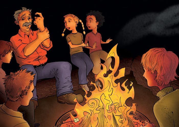 Campfire clipart storytelling. Learning pinterest