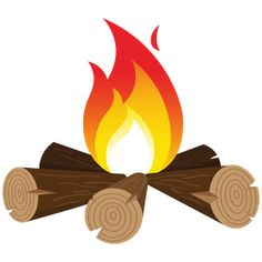 Around the camp fire. Campfire clipart storytelling