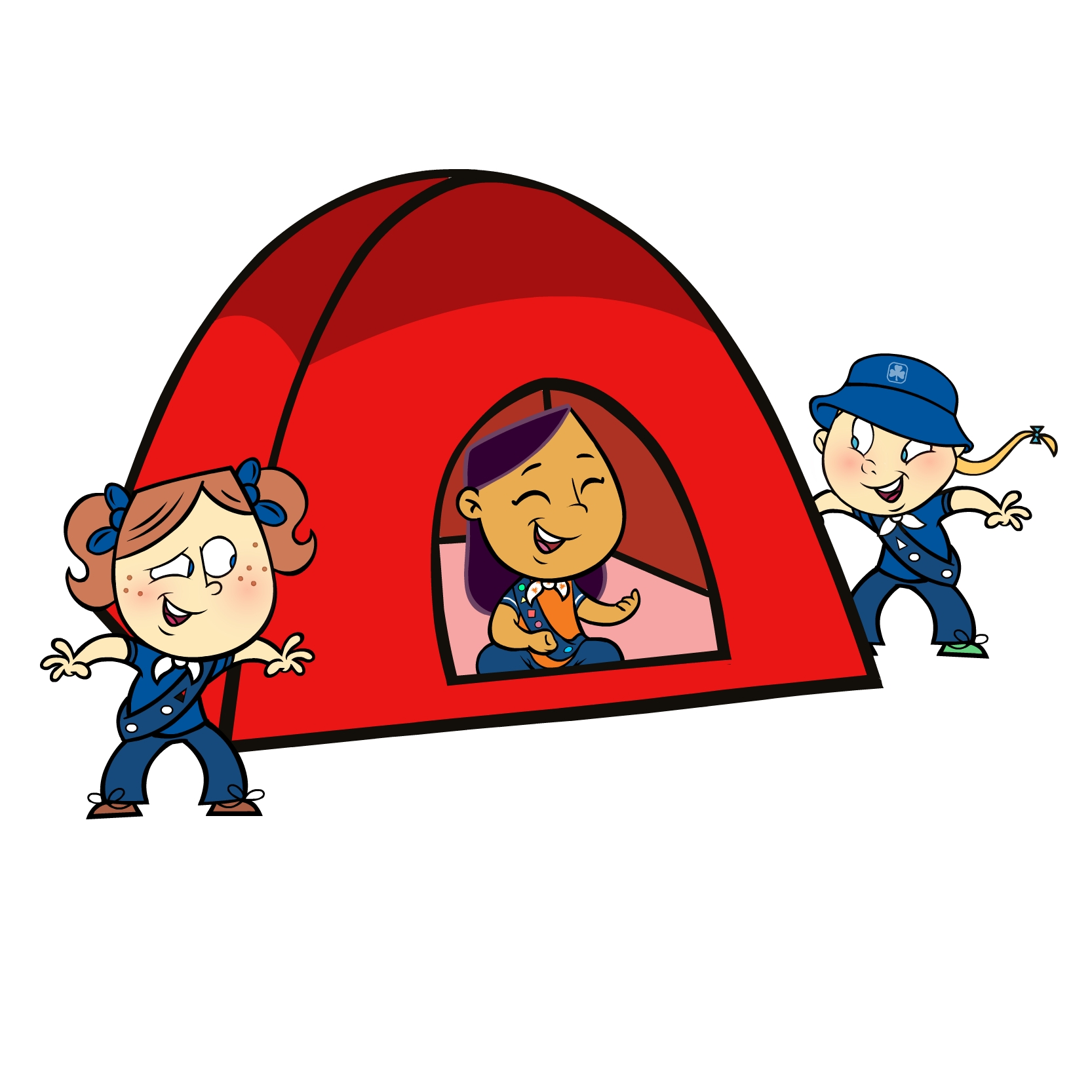 Campfire clipart tent. And panda free images