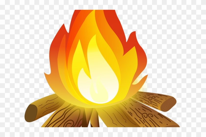 Fire tent . Campfire clipart transparent background