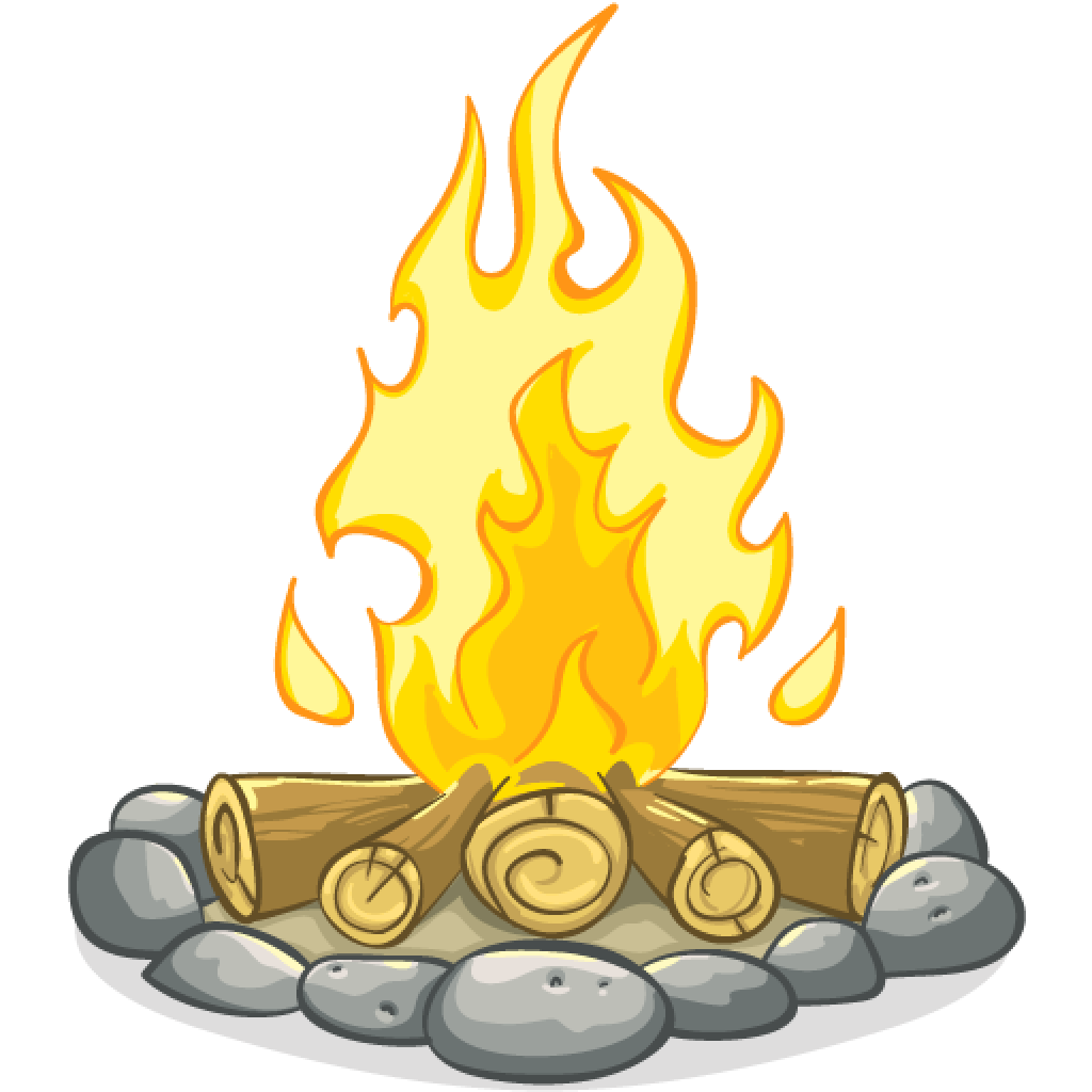Campfire clipart transparent background. Png images free download