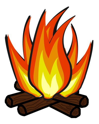 Download free png image. Campfire clipart transparent background