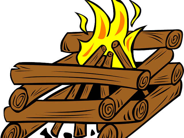Campfire clipart unlit. Fireplace free on dumielauxepices