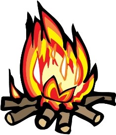 Campfire clipart unlit. How to make a