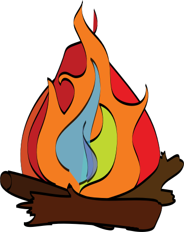 Campfire clipart vector. Free download clip art