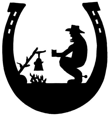 Campfire clipart western.  best cowboys images