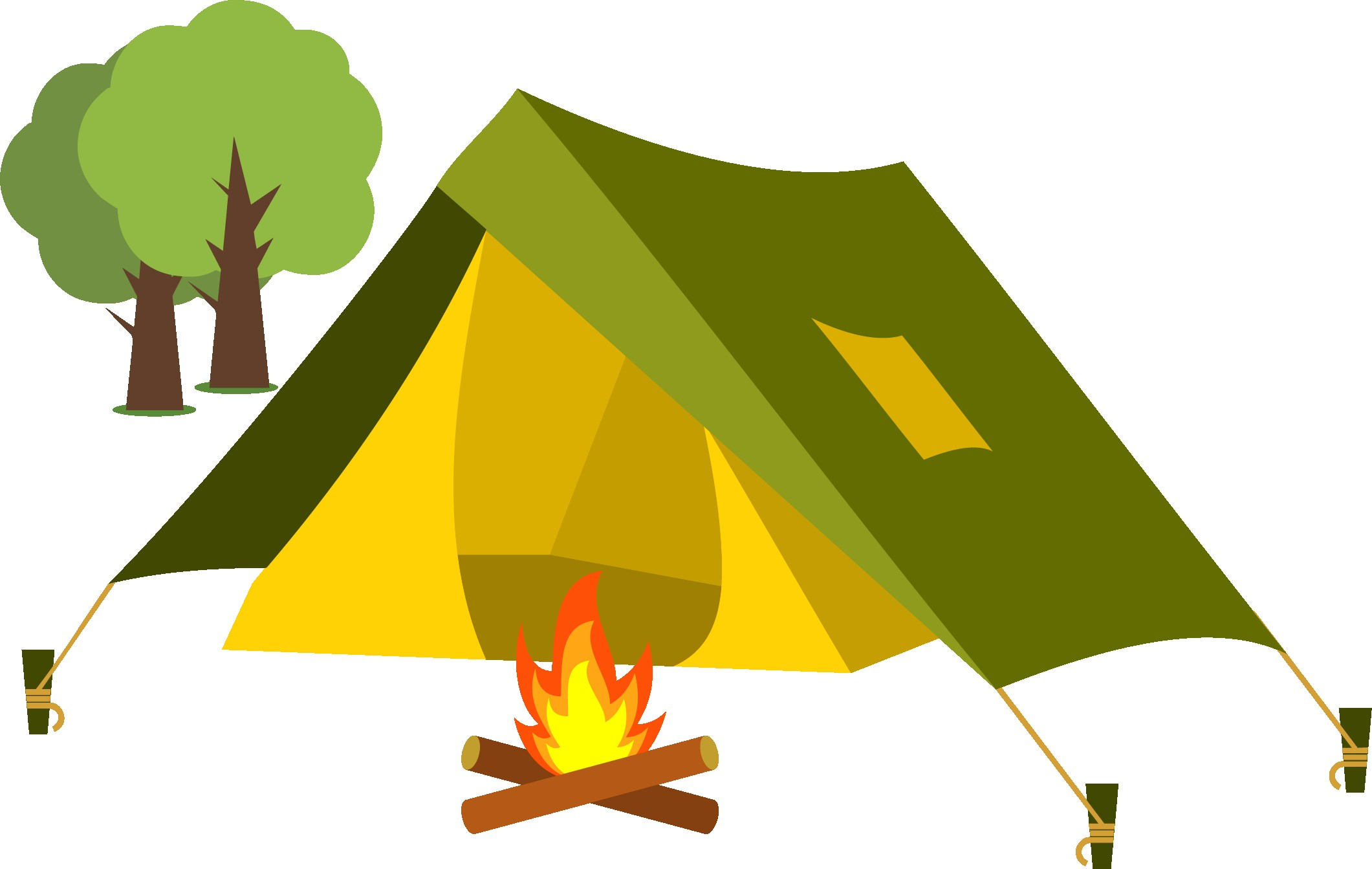 For download free images. Camping clipart
