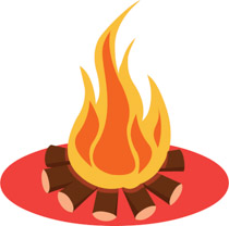 Campfire clipart campsite. Free camping clip art