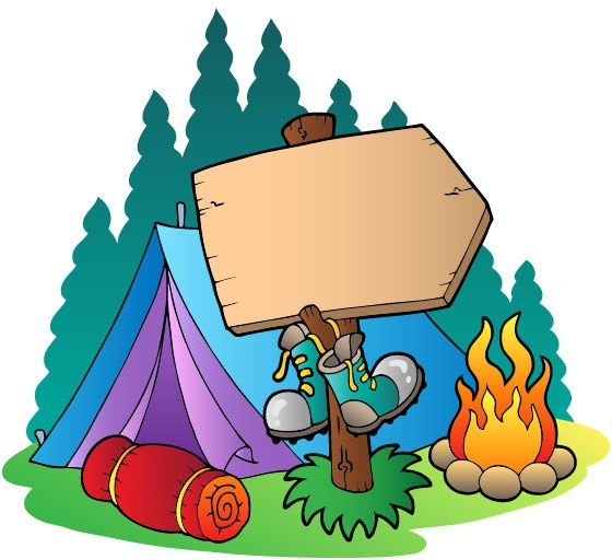 Family camping free buy. Campfire clipart safety