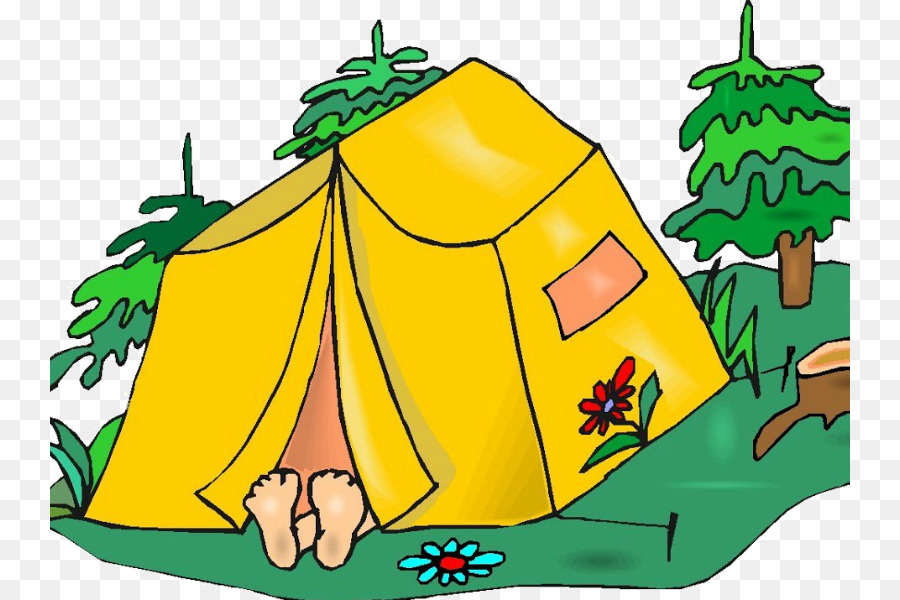 Camping clipart campground. Green leaf background