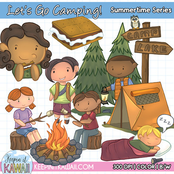 Let s go clip. Camping clipart camping