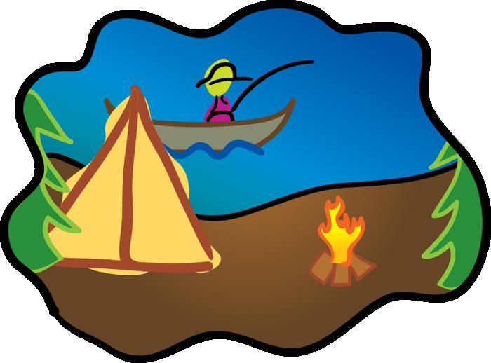 Lake clipart sea. Camping free travel graphics