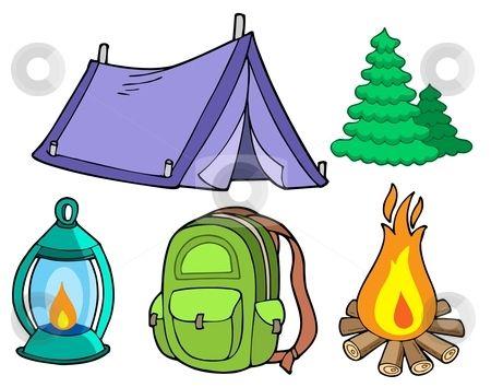 Girl clip art woman. Camping clipart camping