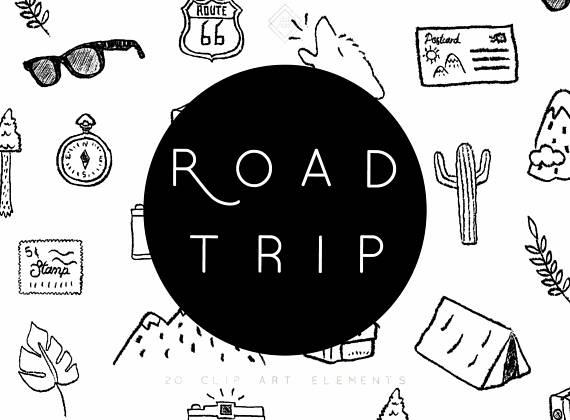 Summer road trip clip. Camping clipart camping holiday