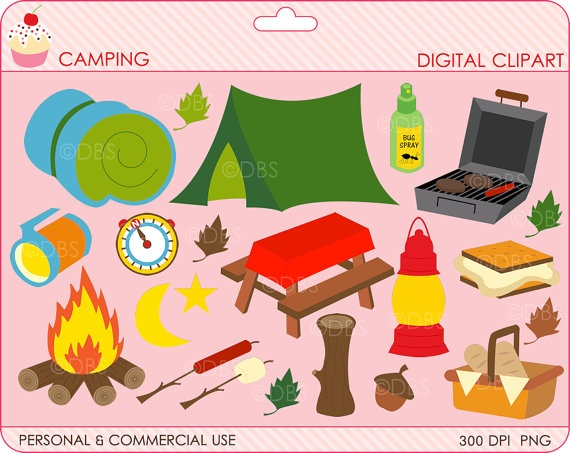 Camping clipart camping theme.  best art doodles