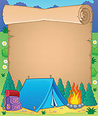 Clip art royalty free. Camping clipart camping theme