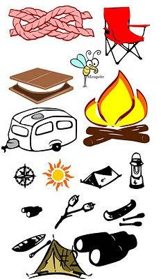 Camping clipart camping theme.  best images in