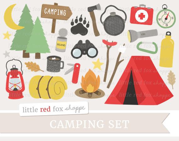 Camping clip art lantern. Campfire clipart tent