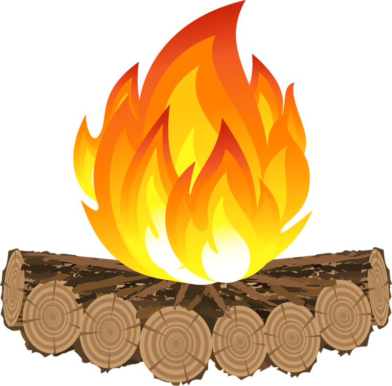 Fotolia subscription v png. Log clipart campfire