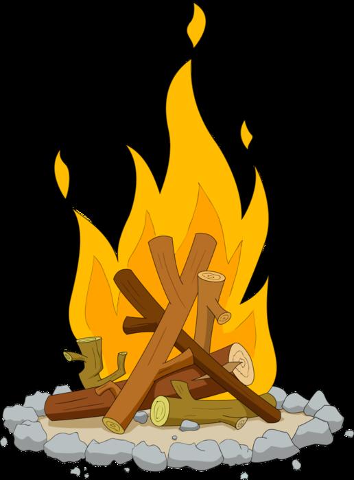 camping pinterest clip. Flames clipart paper
