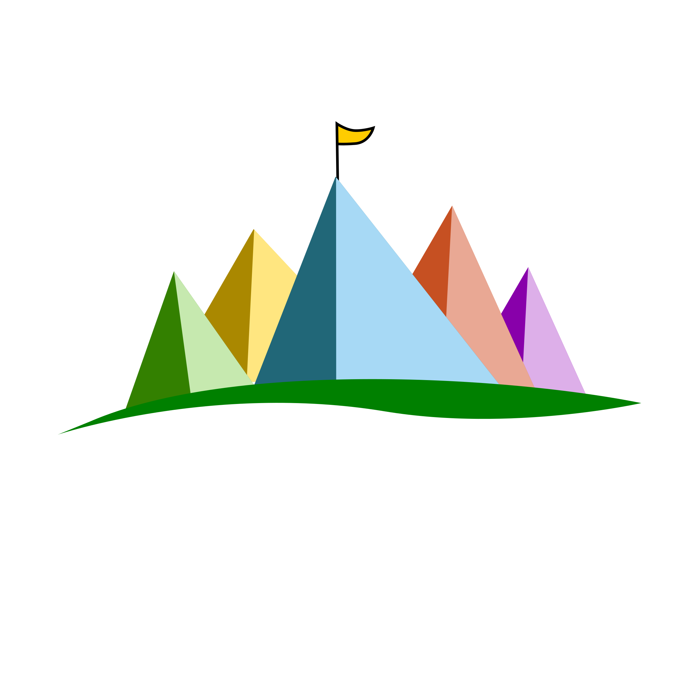 Camp area icons png. Clipart map camping