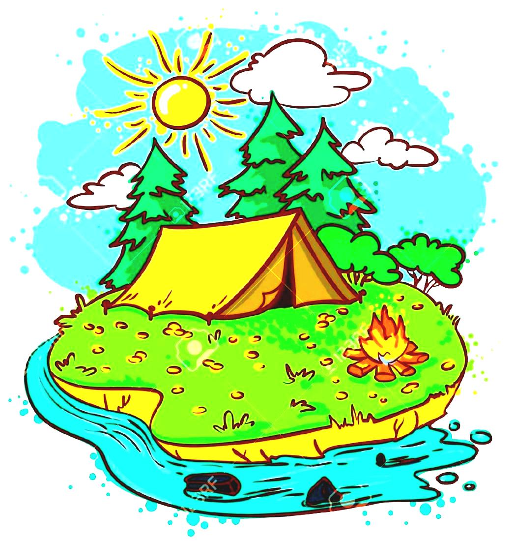 Free camp cliparts download. Clipart map camping