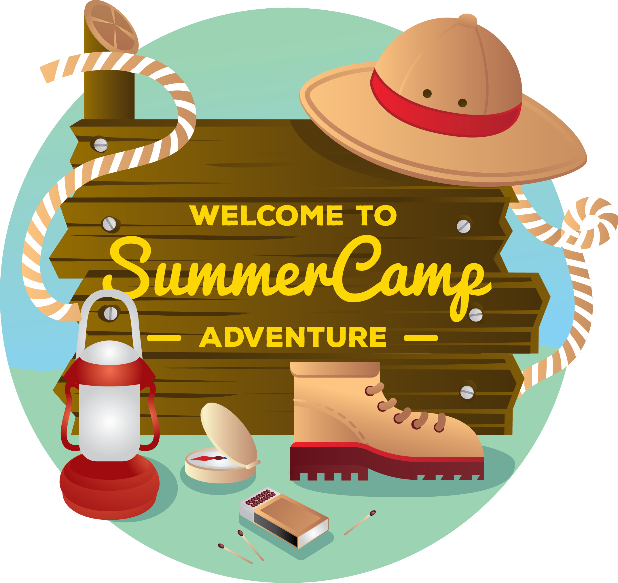 fort collins camps. Hike clipart summer fun kid