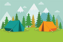 Lake clipart camping. Free clip art pictures