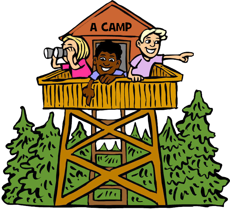 Camp clipart childrens. A kids