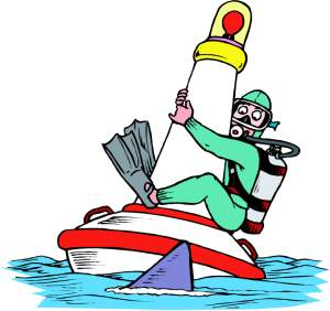 Can clipart cartoon. Scuba fun diving pictures