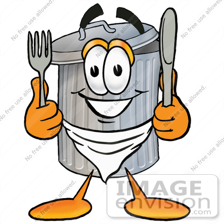 Holding metal clipground clip. Can clipart cartoon