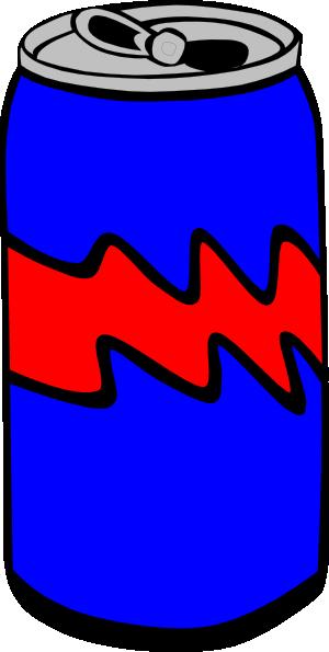 Blue pop clip art. Can clipart cartoon