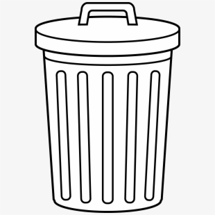 Can clipart clip art. Trash free cliparts on