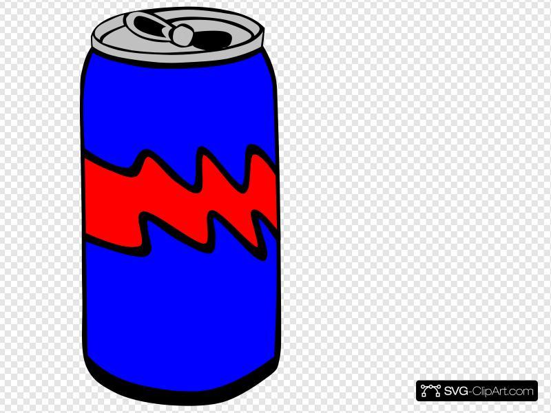 Can clipart pop. Blue clip art icon
