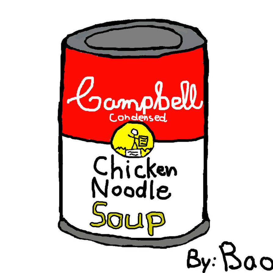 Campbell s by theguyser. Can clipart soup