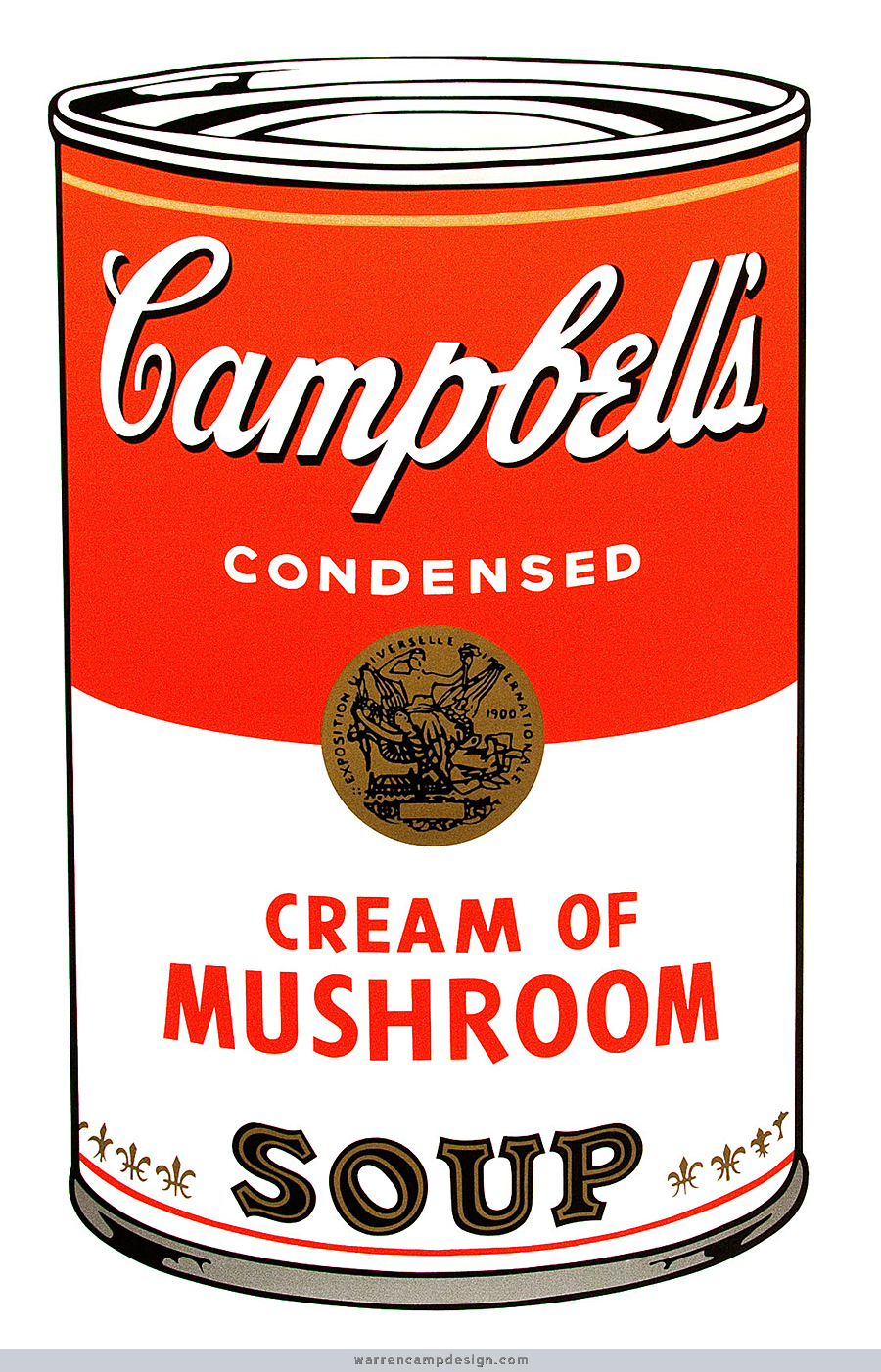 Canned substitute campbells. Can clipart soup
