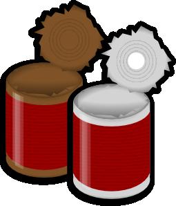 Can clipart tin. Clip art panda free