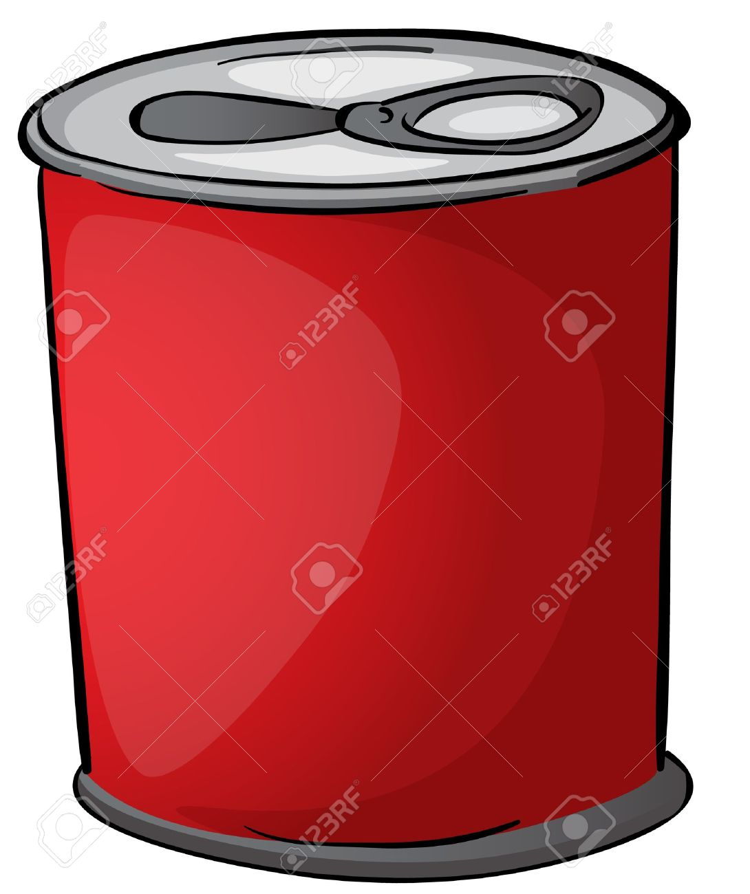 . Can clipart tin