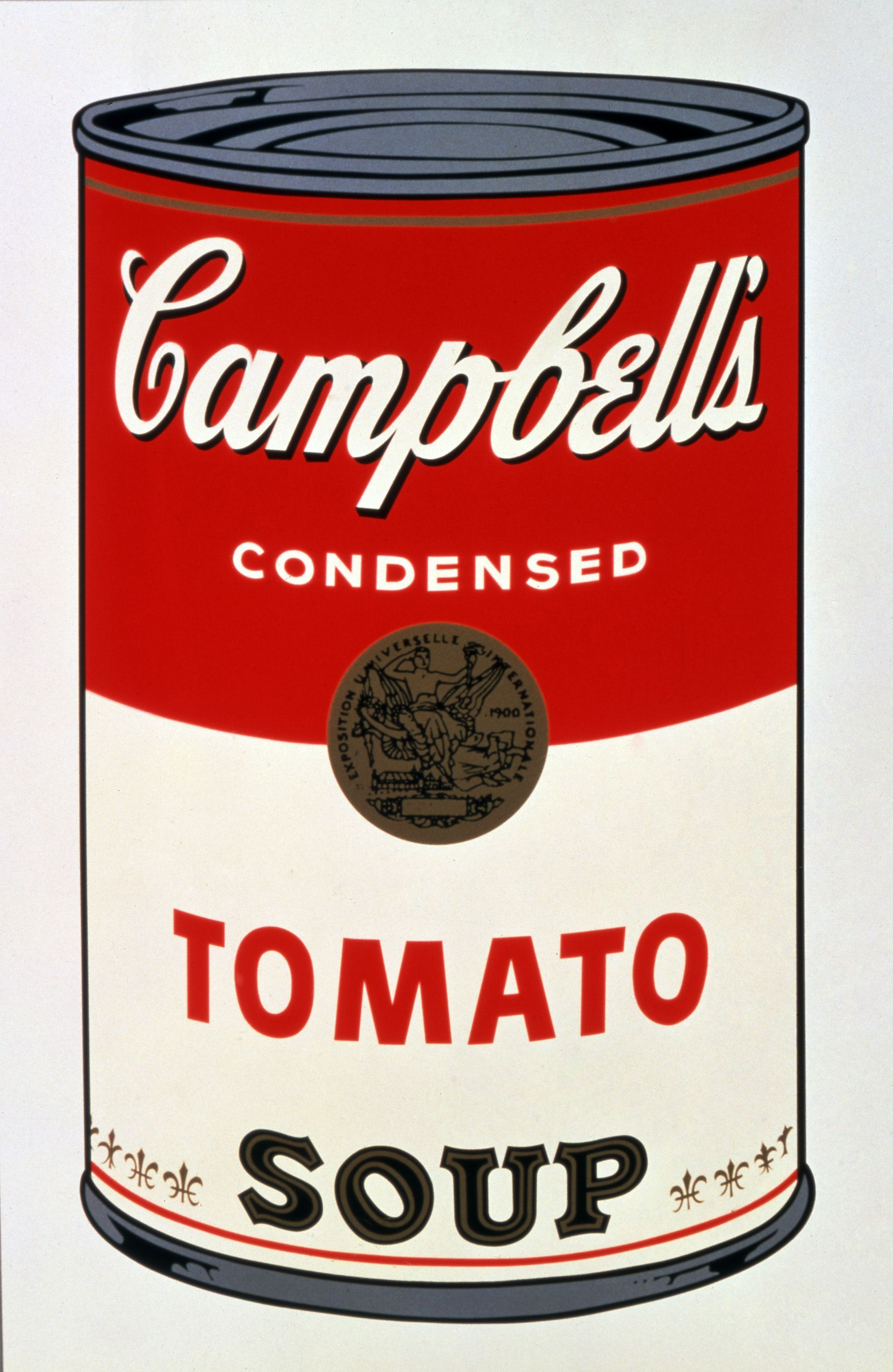 Can clipart tomato soup. Campbells andy warhol i