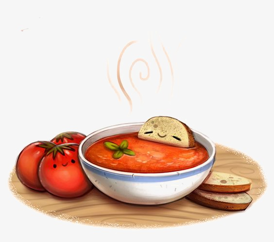 Persimmon png image and. Can clipart tomato soup