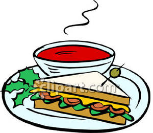 And a sandwich royalty. Can clipart tomato soup