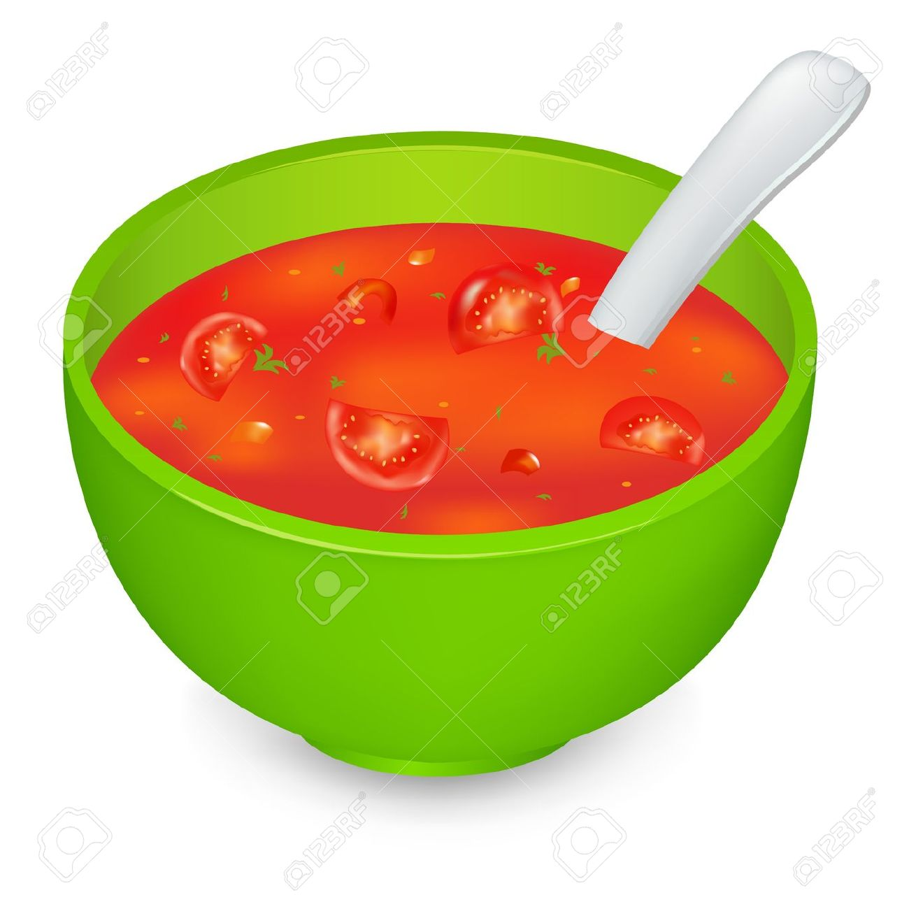 In green panda free. Can clipart tomato soup