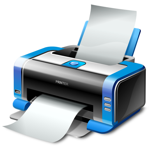 Can you print png files. Printer icon dragon soft