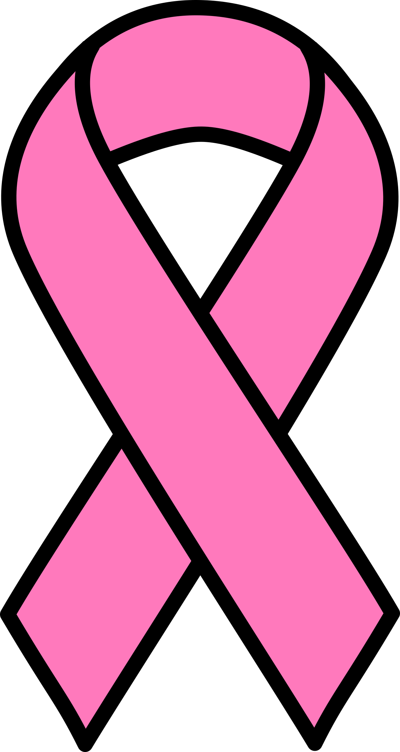Cancer clipart. Image pink breast ribbon