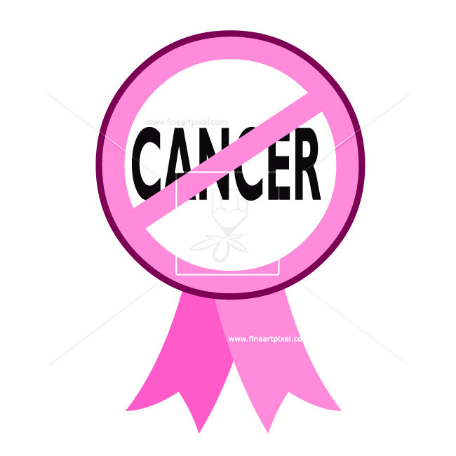 No ribbon free vectors. Cancer clipart