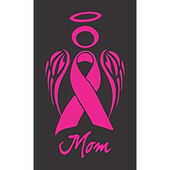 Amazon com ribbon decal. Cancer clipart angel