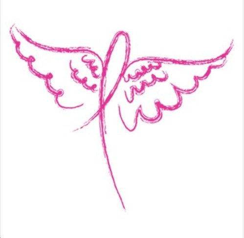 best stained glass. Cancer clipart angel