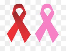 Prostate awareness ribbon blue. Cancer clipart benign