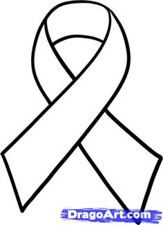 Cancer ribbon pattern