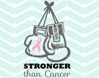 Cancer clipart boxing glove. Fight like a city